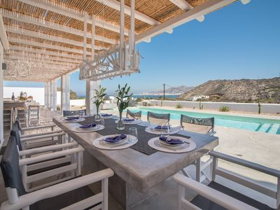 Photo for LUXURIOUS VILLA with POOL and OCEAN VIEW - brand-new!!