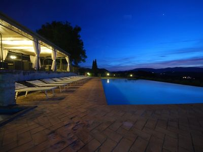 Photo for Spoleto By The Pool, apt.1 - marvellous view, only 0,7 miles from the old tow