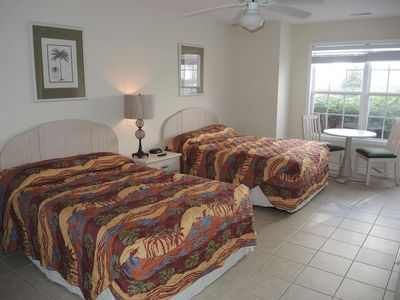 Photo for Studio unit, 27 Holes of Golf surrounds your Golf Villa with Resort Amenities(2801L)