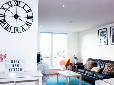 Photo for Chic Apartment in Manchester near Old Trafford