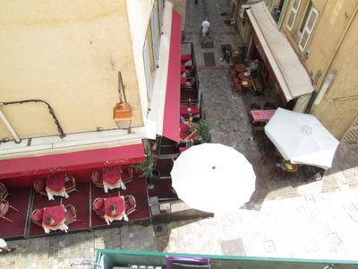 View of Suquet below our window