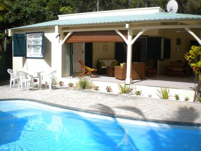 Photo for Villa on the beach and by the sea with private pool