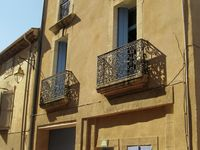 We spent a week in a very nice house. We loved the big terrasse. Nice quiet town ...