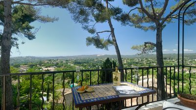 Photo for Villa Olivade. Panoramic Sea Views – Private & Balconies, Terrace & Garden