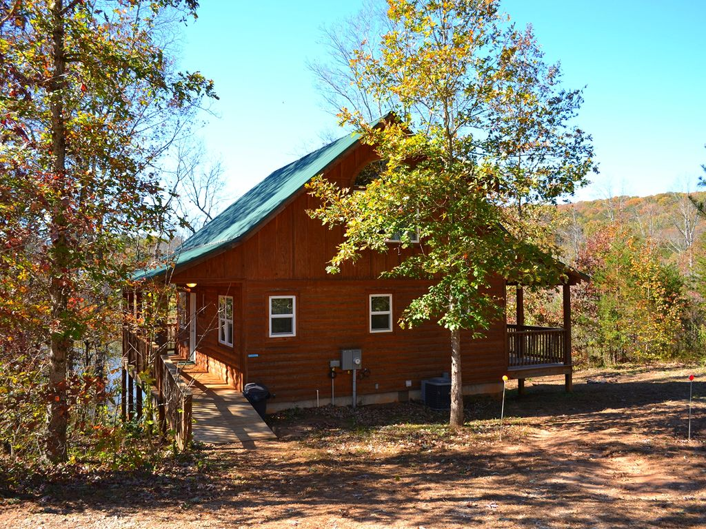 On The Lake 2 Br Cabin Near Helen Ga Cleveland North
