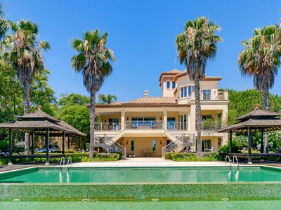 Photo for Stunning villa with spectacular views for rent in Sotogrande