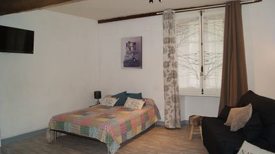 Photo for Renovated studio in the center of Ax les thermes, ideal for spa and ski