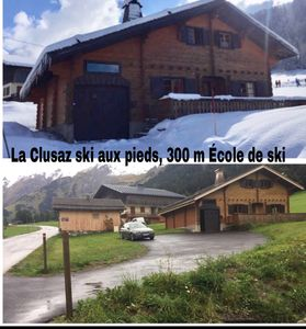 Photo for Chalet 3 stars 8 pers, sleeps 10, ski 300m ski school, 4 park.