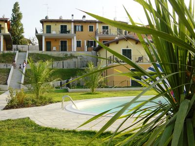 Photo for Residential  apartment with marvellous sea views