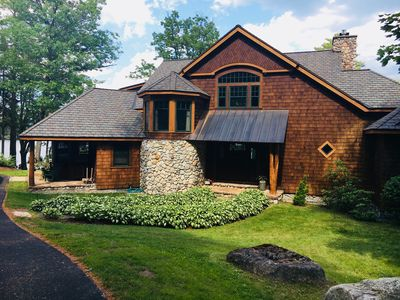 Photo for Beautiful Lakefront Home on 1.3 acres with 540' of Lake George waterfront