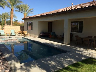 Photo for 4 bedroom 3.5 bathrooms Resort Home with Pool/Spa and attached Casitas