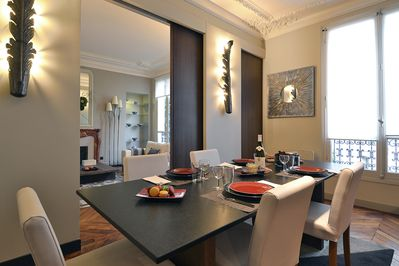 Dining room can seat 8 guests