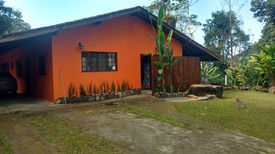 Photo for House in Ubatuba. Nature and quiet next to the Felix beach. Ideal for families