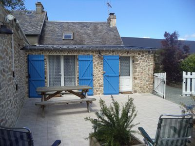 Photo for cottage in Créances village, 4 rooms, 4 people