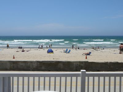 Photo for Your Own Private Deck on the Beach!