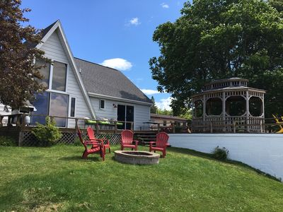 Beautiful Lake House Directly on Hubbard Lake, East Shore