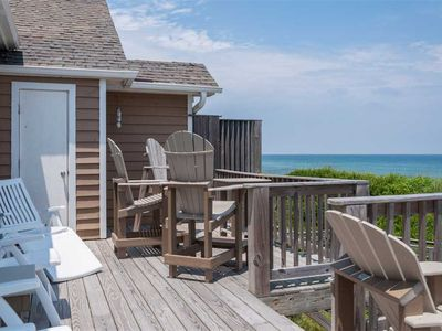 Photo for Sea Pointe 8B: Oceanfront four-bedroom home. Very private duplex ocean views and oceanfront decks.