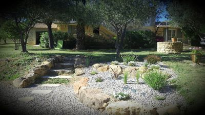 Photo for Corner of paradise in full nature private swimming pool near UZES