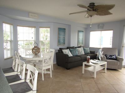Tropical Breezes & Blowing Palm Trees Seaside Condo