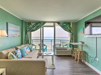 Photo for NEW-Oceanfront Resort Condo w/Pool on Myrtle Beach