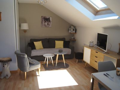 Photo for 2000 PYRENEES CHARMING STUDIO AT THE FOOT OF THE SLOPES