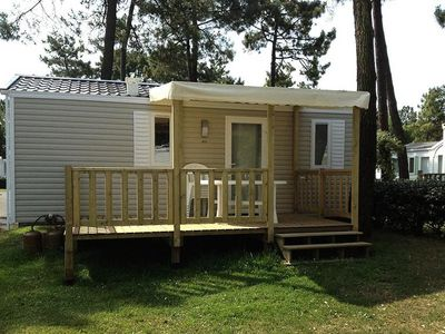 Photo for Camping Le California **** - Mobile Home California Duo 3 Rooms 5 People