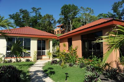 Villa Cayo is perched on top of a Mayan mountain overlooking the guests villas