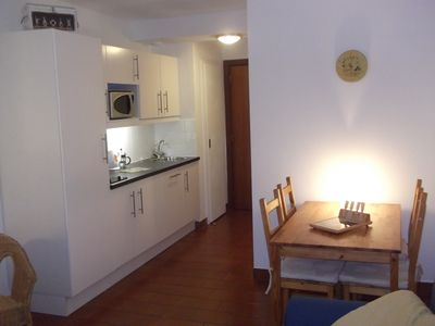 Photo for Studio Apart 2/3 people, in old town with large balcony, WIFI and linen provided