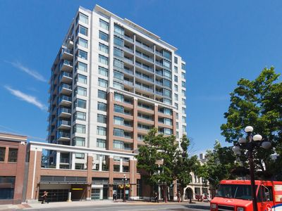 Photo for 1bdr 14th floor condo in downtown Victoria w. parking amazing city & mtn views