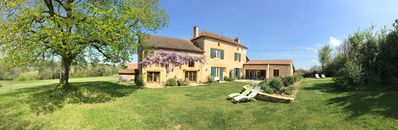 Photo for Large, comfortable French farmhouse to relax and recharge - sleeps 12