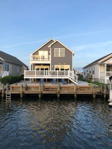 Photo for OCMD Castaway Cove, 2300 sq ft, waterfront.