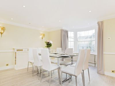 Photo for HEART OF KNIGHTSBRIDGE - SPACIOUS 4BR HOUSE STEPS FROM HYDE PARK!