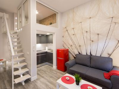 Photo for Modern brand new duplex in the center of Madrid -