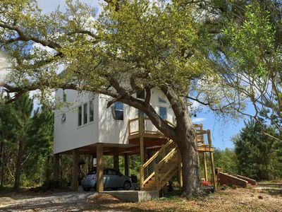 ECO-Beach House in the Trees