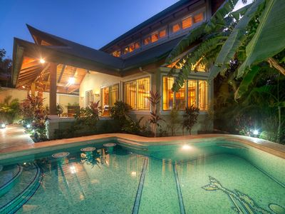 Photo for New Listing!  Best Location, Beautiful Home, Secure.... 3 min walk to the Surf!!