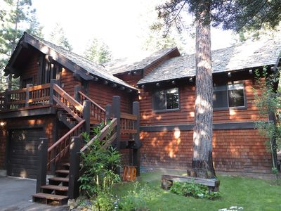 Photo for Beautiful Lodge Style Tahoe Home - McKinney Rubicon Getaway-short walk to beach