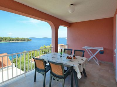 Photo for Apartment Zak  Mia A2(2+2)  - Cove Karbuni (Blato), Island Korcula, Croatia