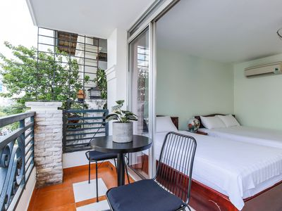 Photo for Beautiful Balcony Room in City Center