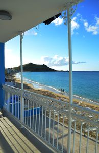Superb apartment on the beach of Grand-Case - 15% from September to November