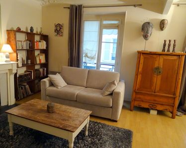 Photo for New flat! beautiful and cozy in Paris center, Saint Michel, 3 to 4 persons.