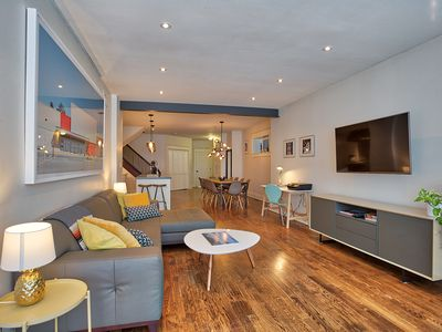 Photo for DUNN HOUSE--5 BEDROOMS! SLEEPS 12+ IN STYLE - QUEEN/ KING ST WEST!!
