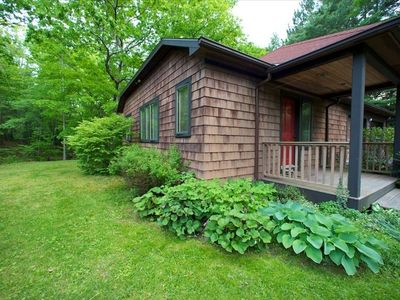 Photo for Streamside Cottage Walking Distance to Town of Woodstock