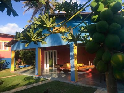 Photo for Large house with garden and pool a few meters from the beach.
