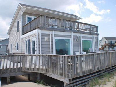 Photo for 416 - Pointe of View - Saturday - 4 Bedroom Pet Friendly Ocean Front
