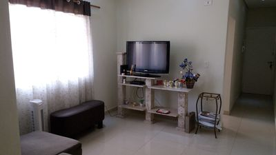 Photo for Apartment in Santos - 3 blocks from Embaré Beach