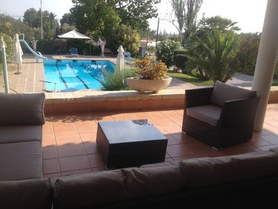 Photo for Luxury Villa With Private Pool & Tennis Court, Near Sandy Beaches of El Campello