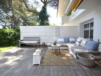 Photo for Exclusive apartment in ground floor, with big private garden, situated in one of the best