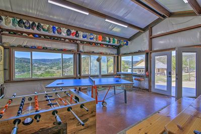 These 2 vacation rental properties have full access to an expansive game room!