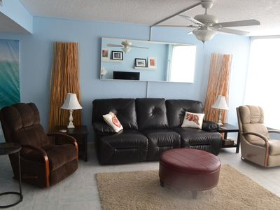 Photo for Come Stay At Our Beautiful Shores Club Condominium With A Lovely Ocean View