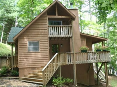Photo for Lakefront on Nantahala Lake with Dock!  3 Bd. 2 BA .